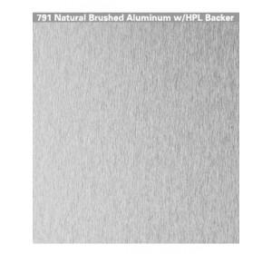 Natural Brushed Aluminium