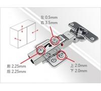 9252 Adjustable Concealed Soft Close Hinge