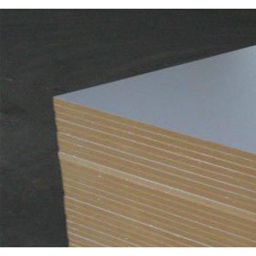White Coated Melamine MDF Boards