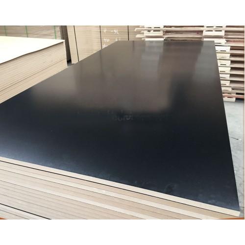 Black Coated Melamine MDf Board