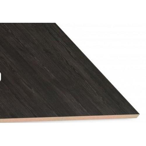 Roble Antracita Textured Woodgrain Melamine Board