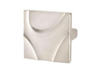 Zinc Stainless Steel Look Knob