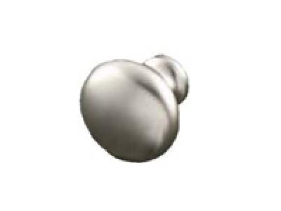 Steel Matt Nickel Knob