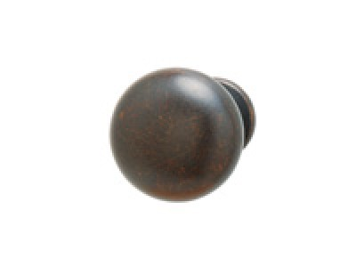 Zinc Oil Rubbed Bronze Knob